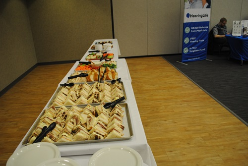 Lunch Served to Attendees.