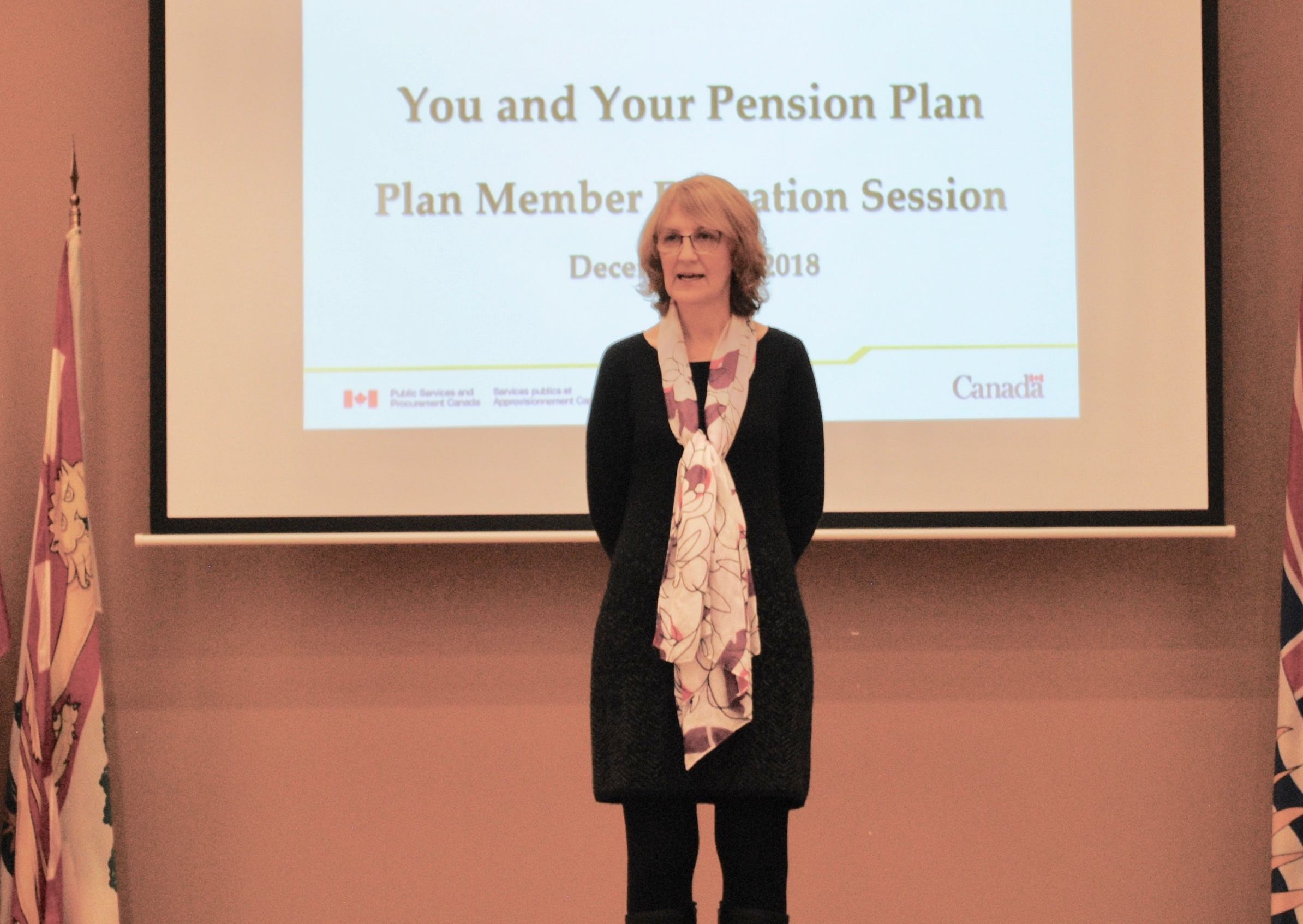 Melody Walz, Presenter for the Pubic Service Pension Plan