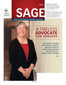 Sage Magazine: sage is the voice of Federal Retirees.